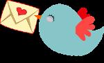 Inschrijven voor de nieuwsbrief van De Droomvogels?